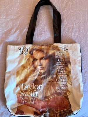 Taylor Swift Rolling Stone Magazine Cover Bag for Sale in Nashville, TN
