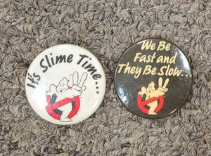 Vintage Ghostbusters Pins $6.00 Each for Sale in Burlington, NC