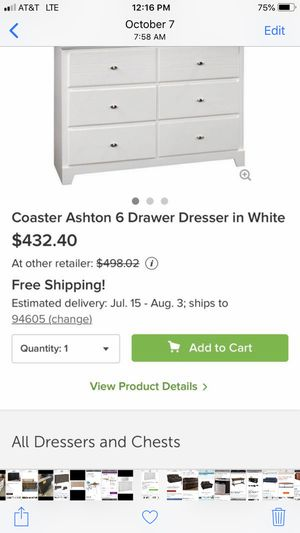 Dresser $200 for Sale in San Leandro, CA