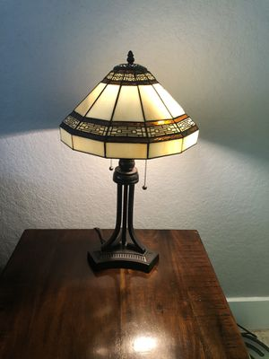 Matching set of oil rubbed bronze colored lamps for Sale in San Antonio, TX