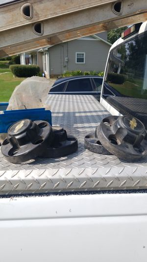 Chevy Black Cap for Wheels - qty 4 for Sale in Birmingham, AL