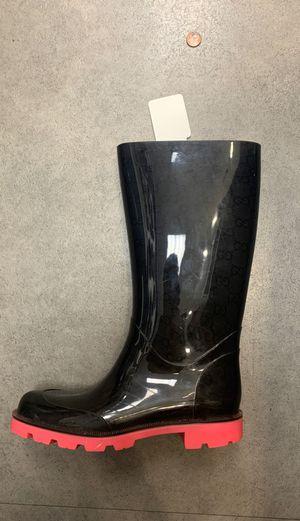 Gucci rain boots for Sale in Chicago, IL