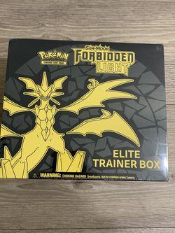 Forbidden Light Pokémon Elite Trainer Box for Sale in Auburn,  WA