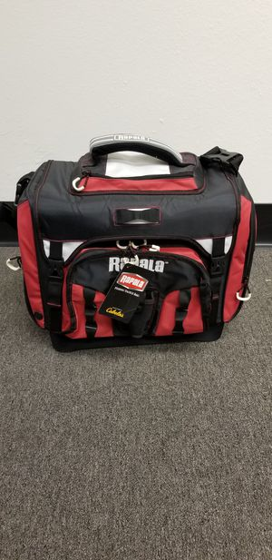 Rapala fishing tackle box bag for Sale in Irwindale, CA