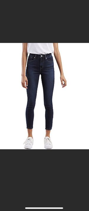 Levi's 721 High-Rise Skinny Ankle Jeans In Size 28 for Sale in Nashville, TN