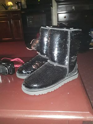 Brand new UGG Sparkling black womens boots size 7 for sale for Sale in El Cajon, CA
