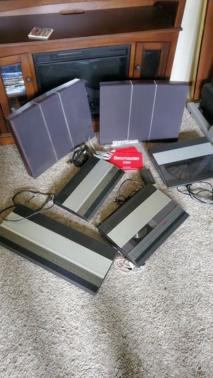 Bang & olufsen beomaster vintage home stereo system 3300 rare audiophi for Sale in Mill Creek, WA