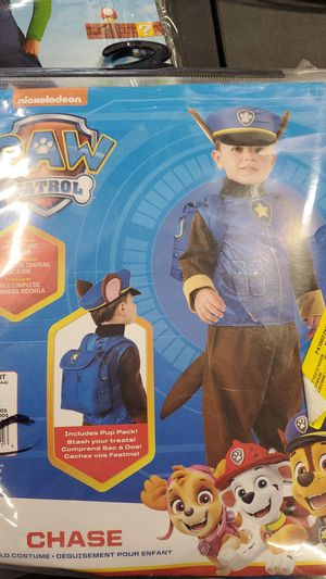 Paw Patrol small size 4 to 6 costume for Sale in Riverside, CA