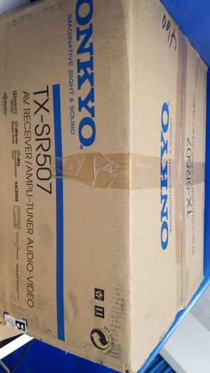 Onkyo Amplifier .. Gently used in original box for Sale in Jersey City, NJ