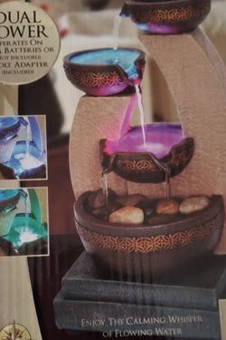 Color Changing Led Water Fountain Decor for Sale in Clackamas,  OR
