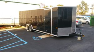 24' Vnose Enclosed Aluminum Trailer Hauler for Sale in Brooklyn, NY