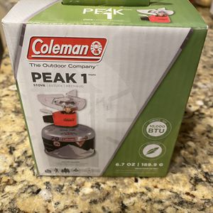 Coleman Peak 1 Backpacking Stove for Sale in Phoenix, AZ