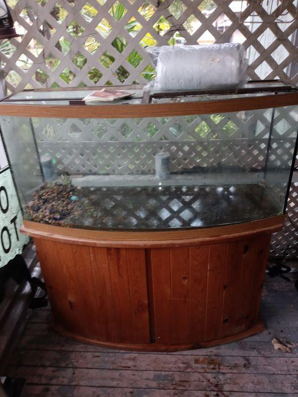 Huge 55g (or more) complete salt water aquarium set up.