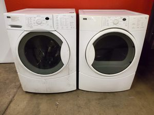 Kenmore washer and electric dryer set good working condition set for $399 for Sale in Denver, CO