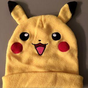 Pokemon Pikachu Winter Beanie Hat With Ears - Nintendo Unisex for Sale in Corona, CA