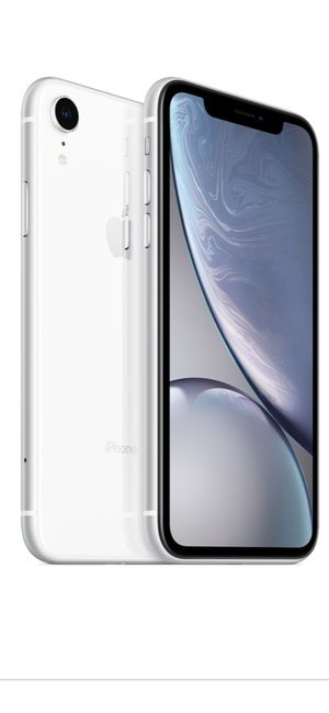 IPhone XR 64GB, white almost new for Sale in Gray, TN