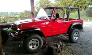 1997 jeep wrangler for Sale in Proctor, WV