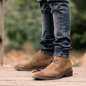 Thursday Boots Scout Cognac Suede Chukka (Men's 11) for Sale in NO POTOMAC, MD