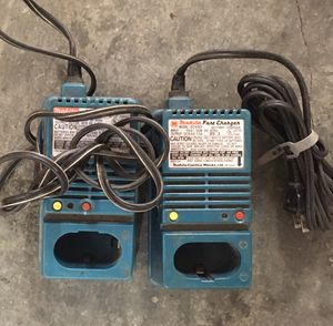 Makita battery chargers for Sale in Lynnwood, WA