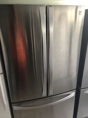 Kenmore Elite 3 Door Steinless Refrigerator for Sale in Santa Ana, CA