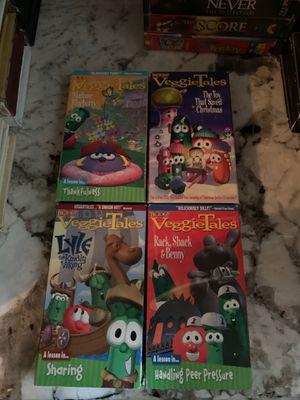 Veggie tales VHS for Sale in Houston, TX