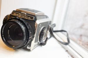 Bronica S2 120mm film camera with 90mm Nikkor lens for Sale in Portland, OR