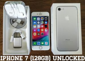 Iphone 7 (128GB) Factory-UNLOCKED (9/10) for Sale in Alexandria, VA