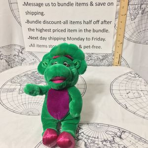 Musical Barney Baby Bop Plush (Ship Only) for Sale in Concord, NC