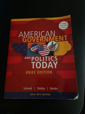 American Gov Book 2014-2015 edition for Sale in Fremont, CA
