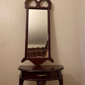 Table And Mirror for Sale in Hayward, CA