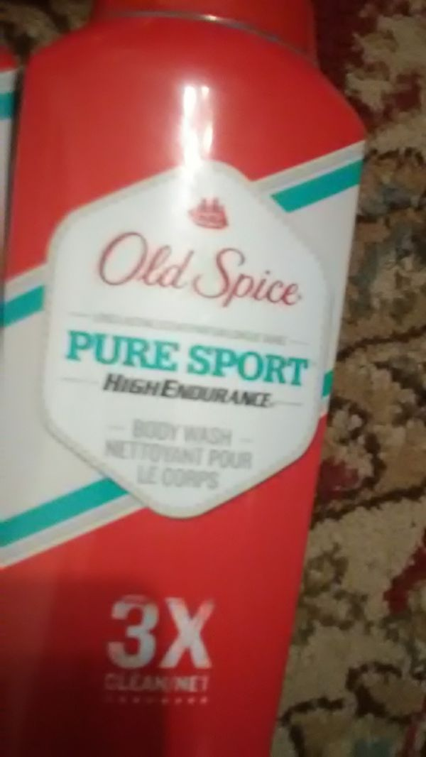 Old spice package