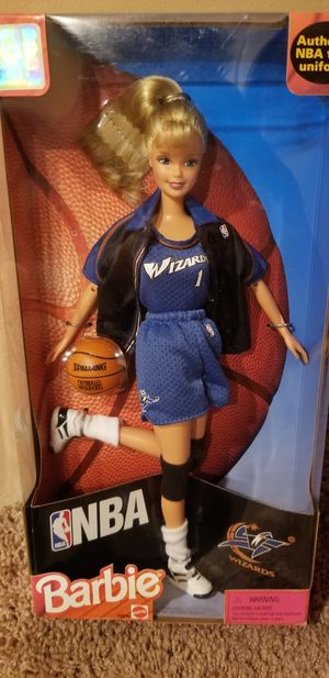 NBA Barbie Washington Wizards for Sale in Naperville, IL