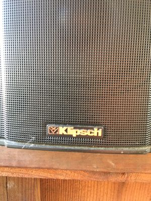 """klipsch speaker 7"""" wide and 10"""" tall for Sale in Palo Alto, CA"""