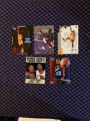 Shaquille O'Neal Upper Deck and Skybox Metal insert and common card lot for Sale in San Antonio, TX