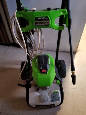 Greenworks Electric Pressure Washer 1800 psi 1.1 cpm for Sale in Lynwood, CA