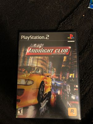 Midnight club street racing ps2 for Sale in Wallingford, CT