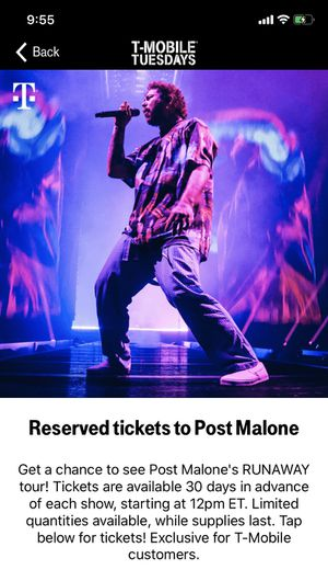 Post Malone Tickets for Sale in undefined