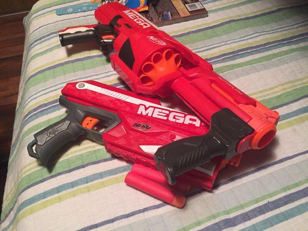 2 Mega Nerf Guns