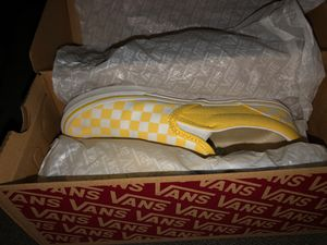 yellow slip on vans for Sale in Oklahoma City, OK