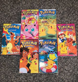 POKEMON VHS TAPES (Collectibles) for Sale in Westminster, CO