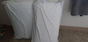 Big pillows foam memory pillows for Sale in Clovis, CA