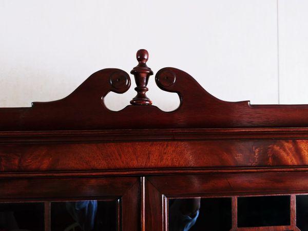 Cherry Wood China Cabinet