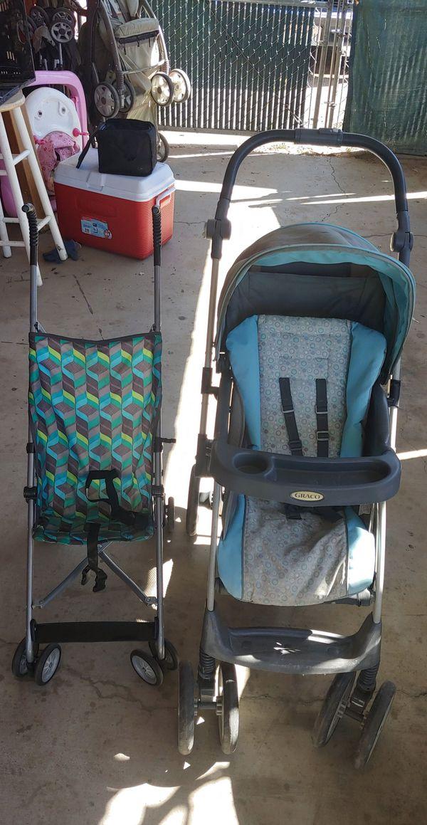 2 free strollers