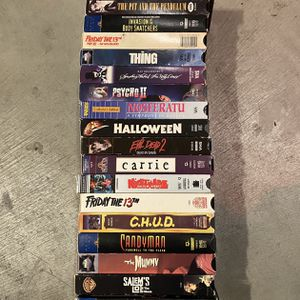 VHS movies, make me an offer. for Sale in Portland, OR