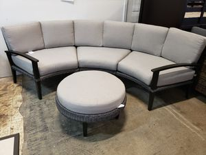 New outdoor patio furniture sectional sofa set tax included delivery available for Sale in Hayward, CA