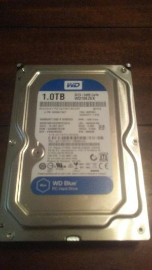 1tb western digital blue hard drive for Sale in Clarksville, TN