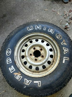 GM rim and tire for Sale in Bloomington, IN