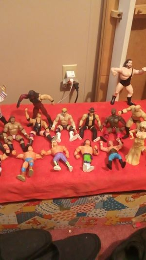 Marvel® WWF and WWE collectors wrestling action figures for Sale in Wichita, KS
