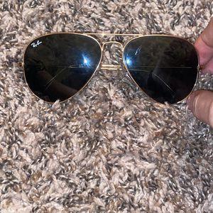 Black/Gold Rayban Sunglasses for Sale in Tempe, AZ