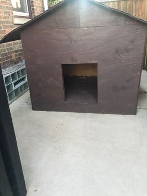 Dog house w 64 inches x L 61 inches H x 60inches for Sale in Chicago, IL